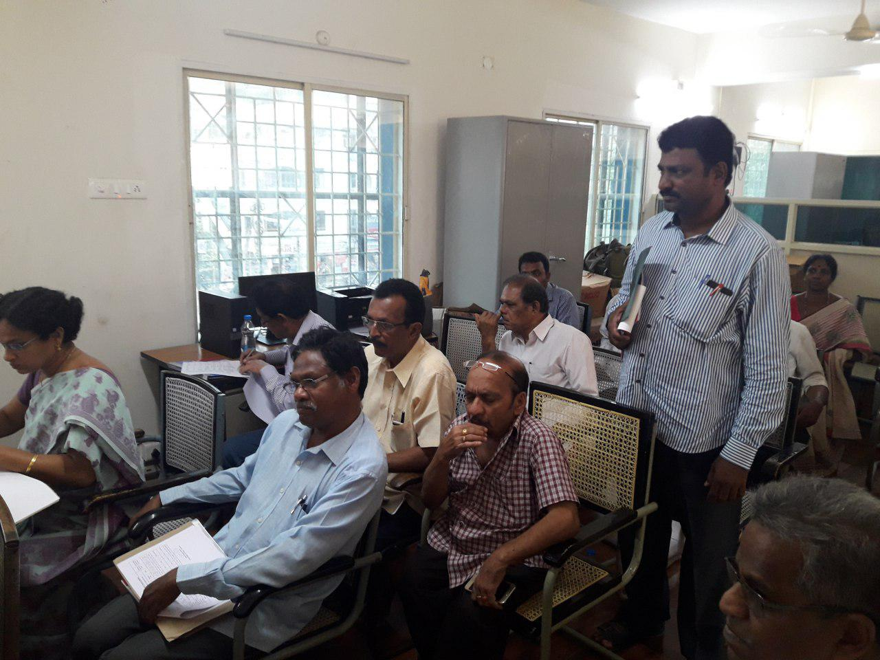 Review meeting on Implementation of LTR in Scheduled Areas of A.P. at Vijayawada, Dated:20.04.2017